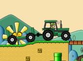 juego de mario con el tractor