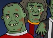 juego de futbolistas zombies