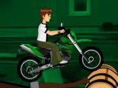 Ben 10 Bike Riding