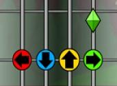 juego de guitarrista clásico