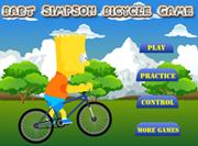 juego bart simpson biciclista