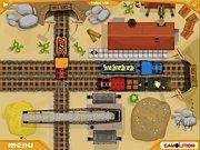 juego de tren de minas