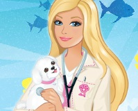 Juego de Barbie Veterinaria