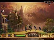 juego del arquero del castillo