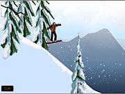juego de surf sobre la nieve