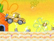 pilotar el coche de bob la esponja