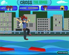 cruzar el rio beyblade