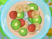 paletas de hielo con frutas