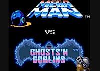 juego megaman contra Ghosts n Goblins