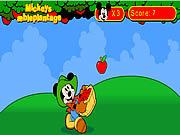 mickey et las manzanas