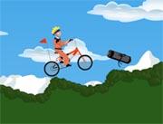 juego naruto en bicicleta