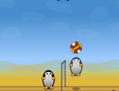 pinguionos jugando